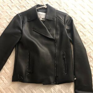 Cute jacket leather